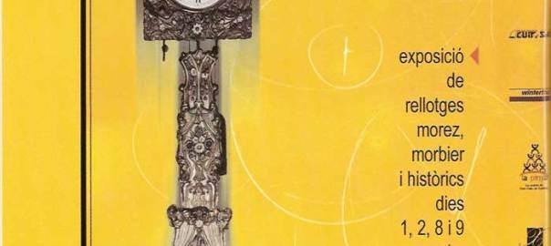 IV Fira del Rellotge de Catalunya, 1, 2, 8 i 9 de maig de 1999