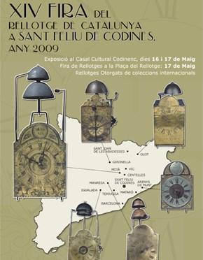 XIV Fira del Rellotge de Catalunya, 16 i 17 de maig de 2009