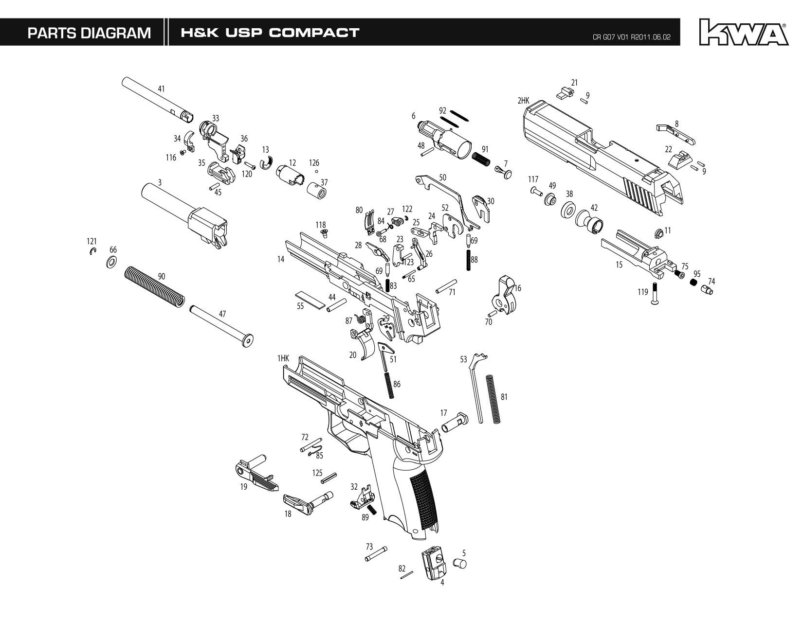 Kwa Gun Manual Usp Compact