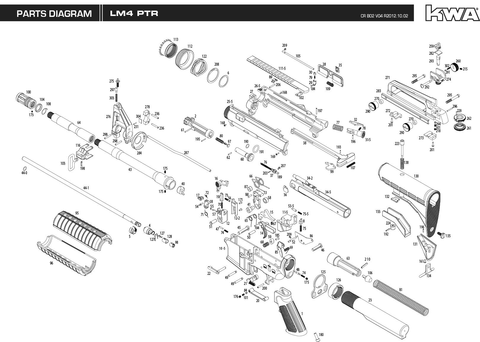 Kwa Gun Manual Lm4 Ptr