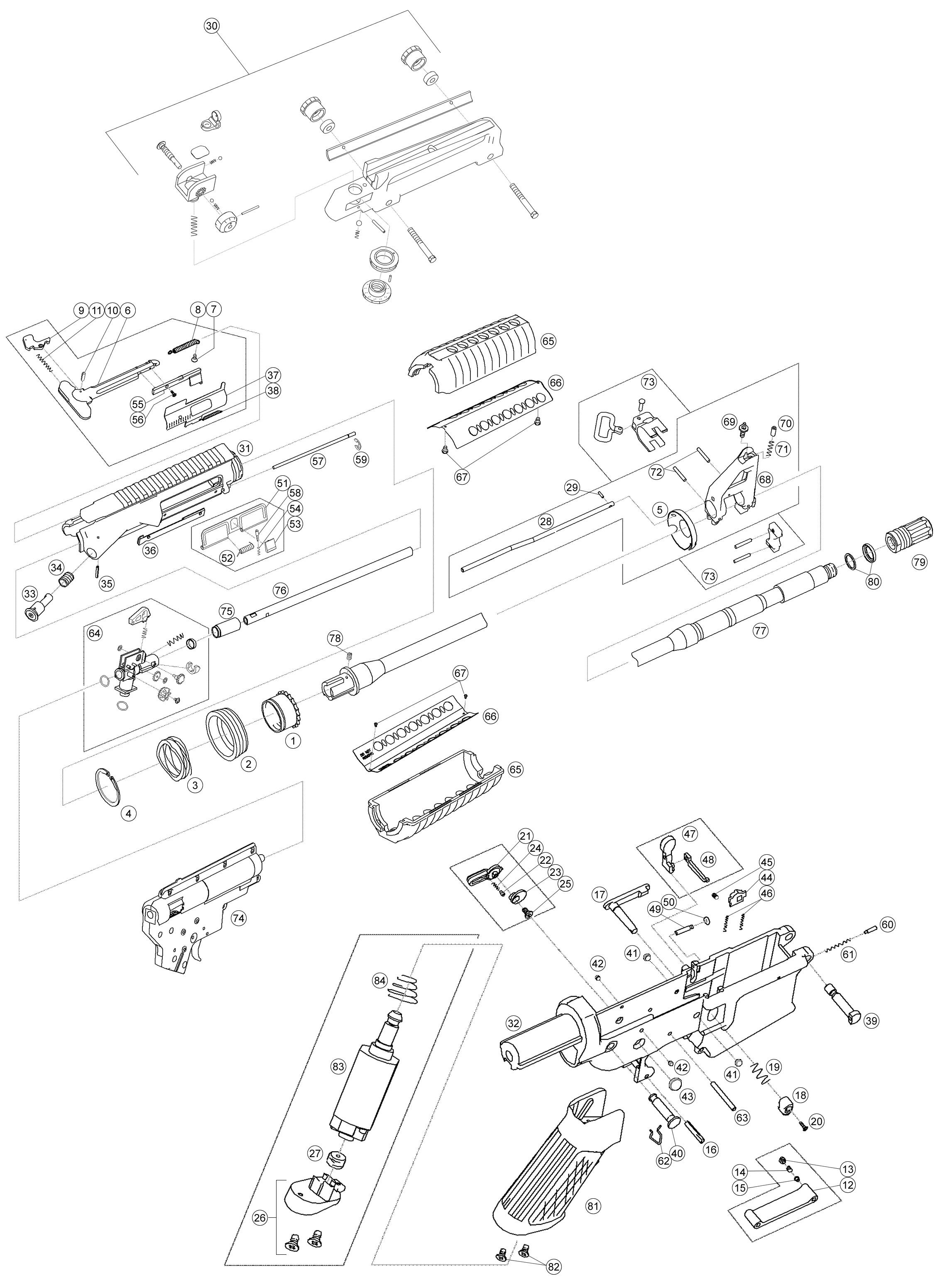 Airsorft Gun Shop Airsoft Aeg Airsoft Rifle King Arms