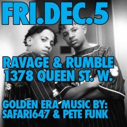 Kris Kross Pete FUnk Safari647 ravage Rumble