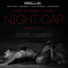 Fire 4 Hire Crawford NightCap College Street Alia Caffeina Julie Mango Pete Funk