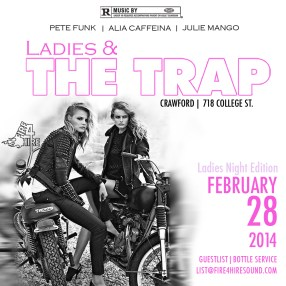 Ladies and the trap crawford Feb. 28