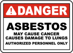 Might you come across asbestos in your work?