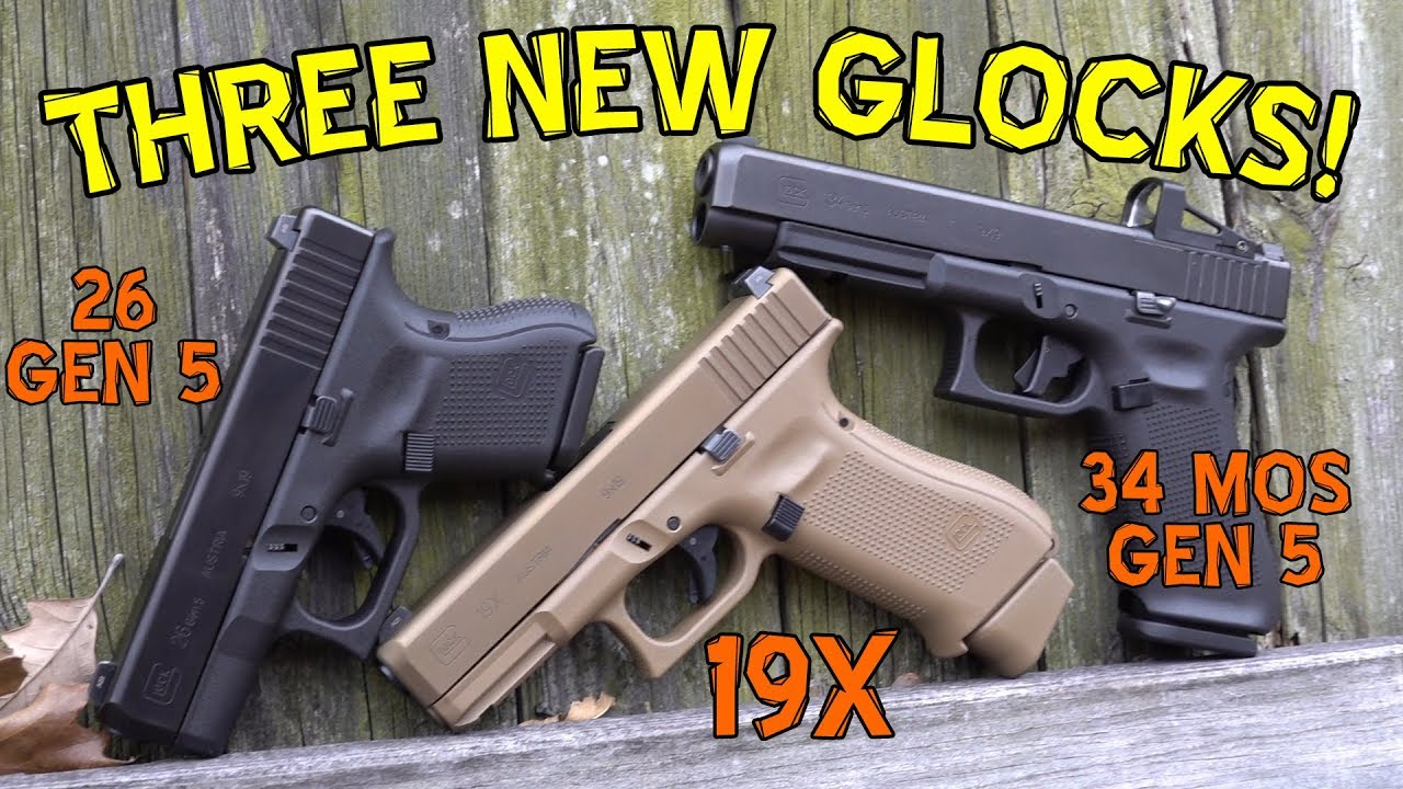 I Broke The Glock 19x Already Also A First Look At 34 Gen 5 Parts Take Down Pinterest Mos 26 Firearm Rack