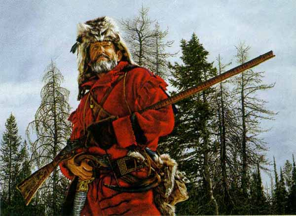 Knives Of The Mountain Men