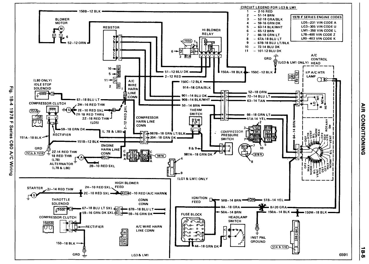 Wiring Diagram And A C Blower How Tos