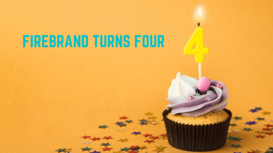 We're four!