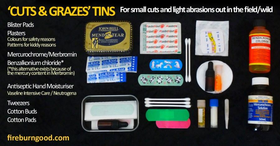 Cuts & Grazes Tins