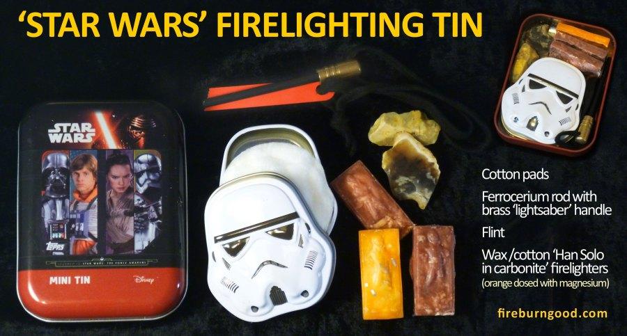 Star Wars firelighting tin