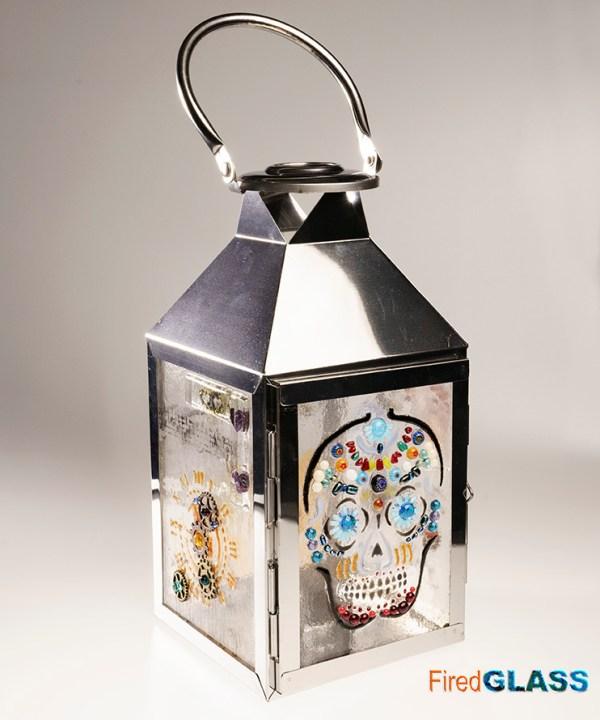 Steampunk lantern large
