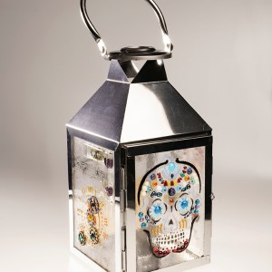 Steampunk lantern large