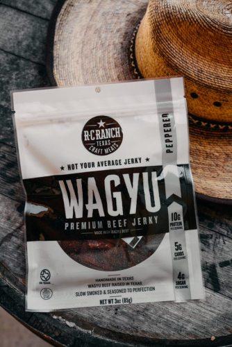 Wagyu Beef Jerky - Peppered