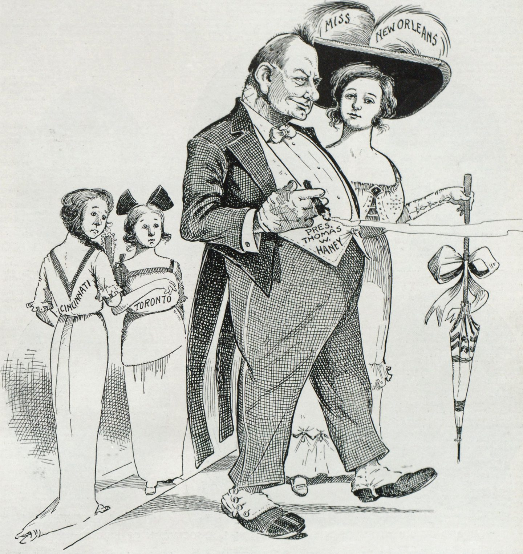 Cartoon Miss New Orleans