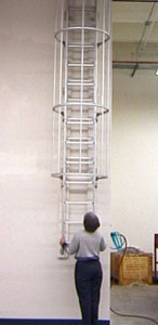 Counter Balanced Fire Escape Safety Ladder Fire Escape Systems
