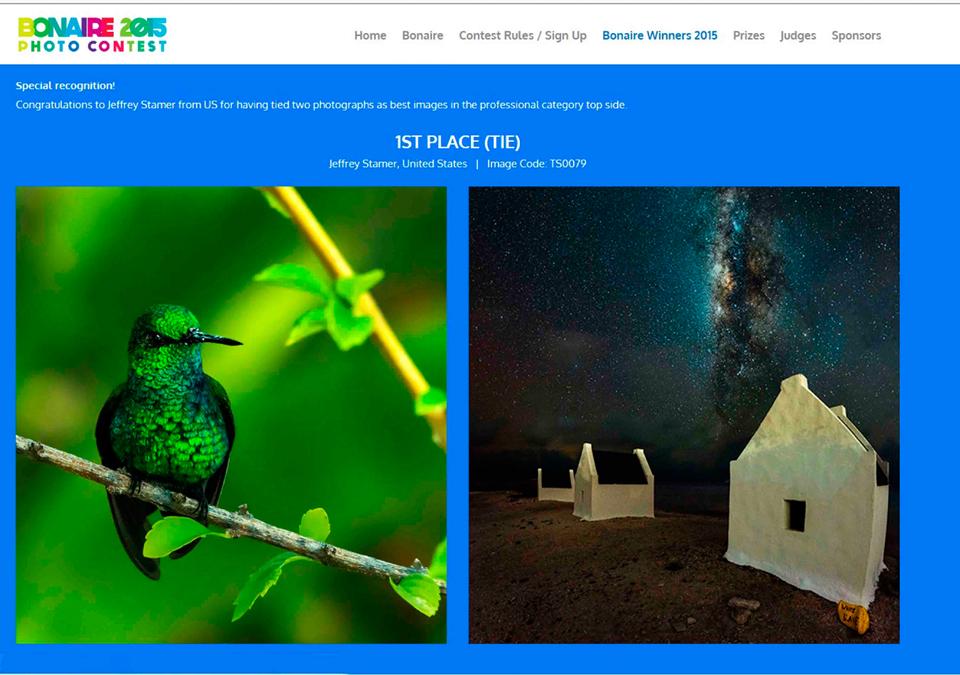 Bonaire 2016 Photo Contest