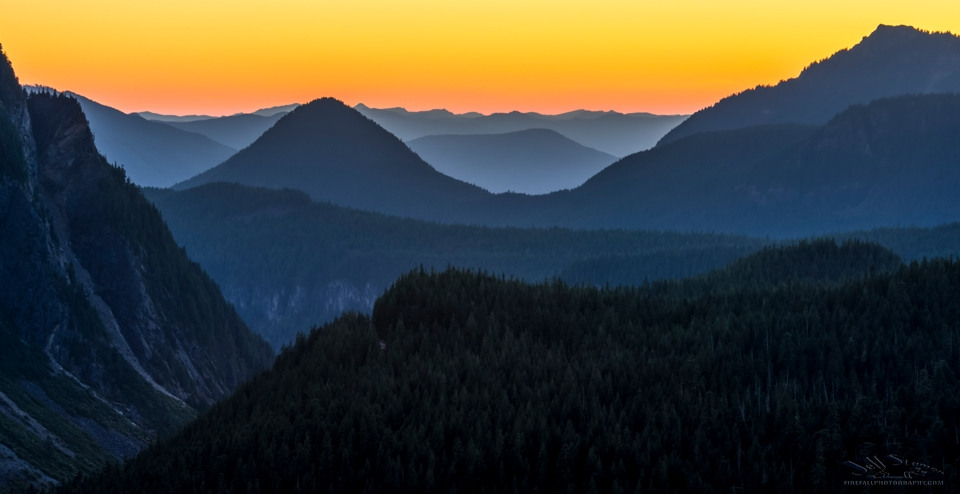"""Inspiration Point: A """"new"""" location for Photography at Mt. Rainier NP"""