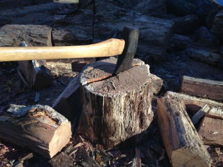 frugality free firewood heat