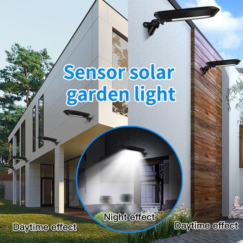 sensor garden wall light