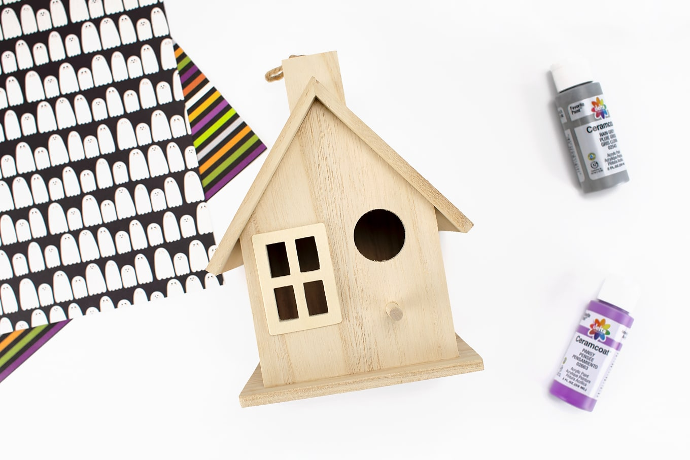 Craft Store Birdhouse for Decorating