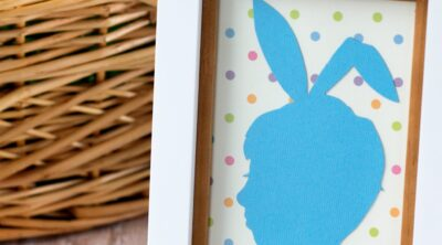 Easter Silhouette Portraits