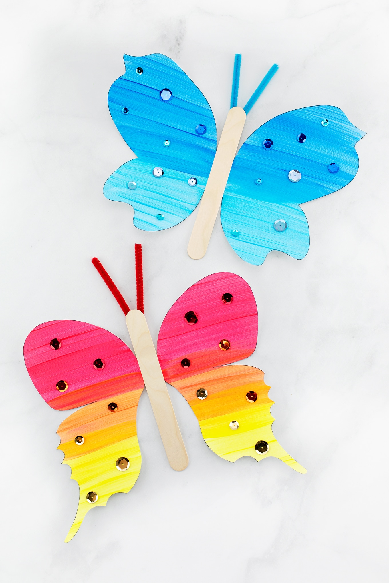 Easy and Fun Fluttering Paper Butterfly Craft for Kids