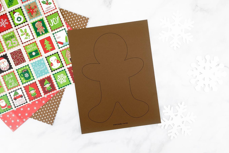 Free Printable Gingerbread Man Template