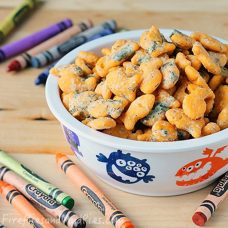 Homemade Ranch Goldfish Crackers - Fireflies and Mud Pies