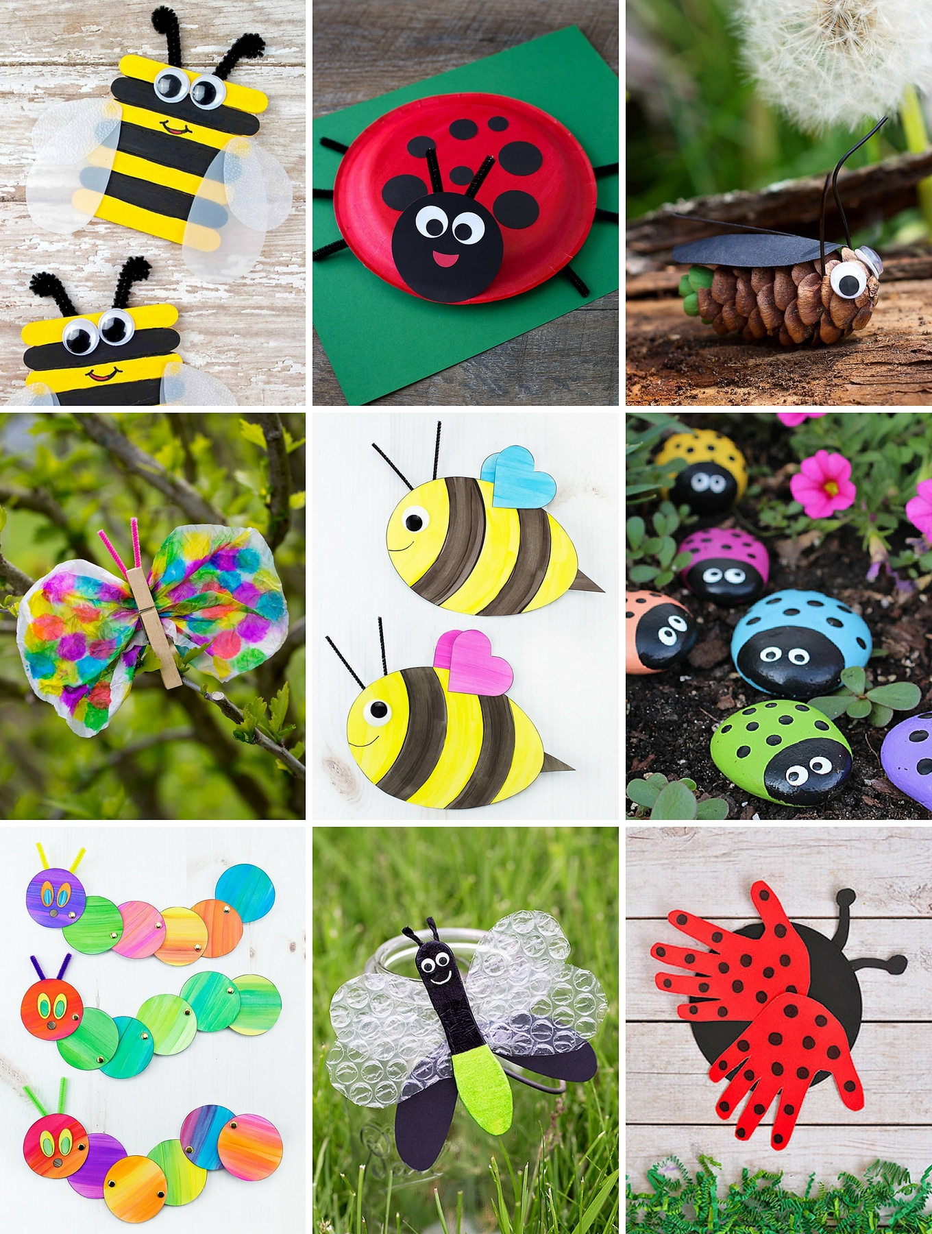 The Most Easy And Fun Insect Crafts For Kids