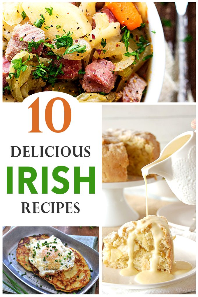 10 Delicious Irish Recipes—Perfect for St. Patrick's Day | Fireflies and Mud Pies