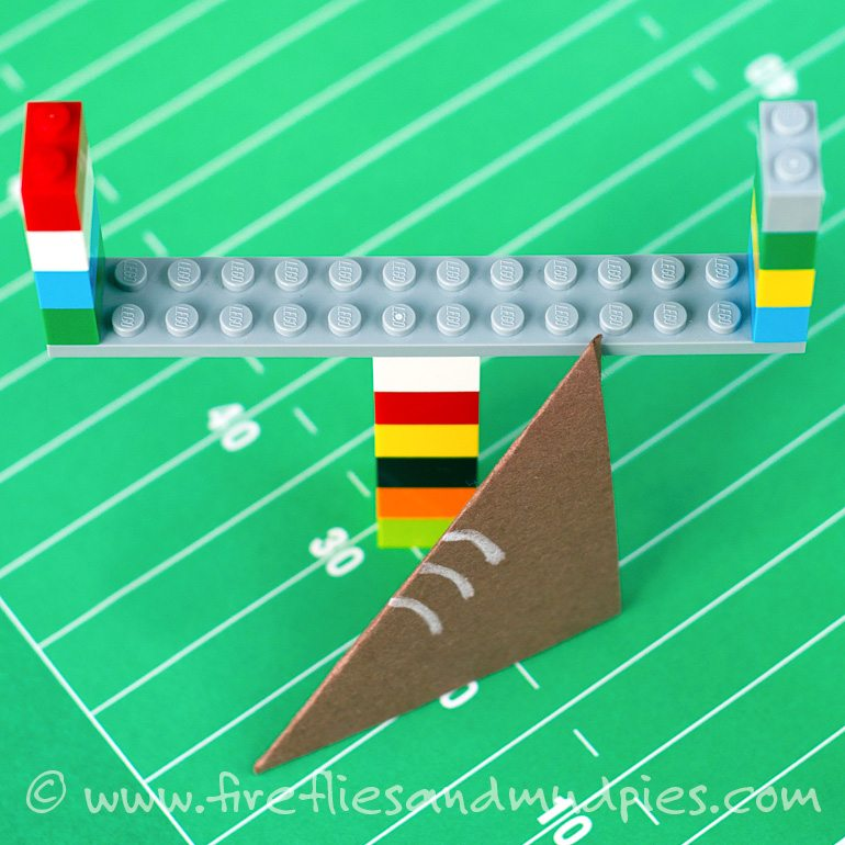 LEGO Superbowl for Kids | Fireflies and Mud Pies