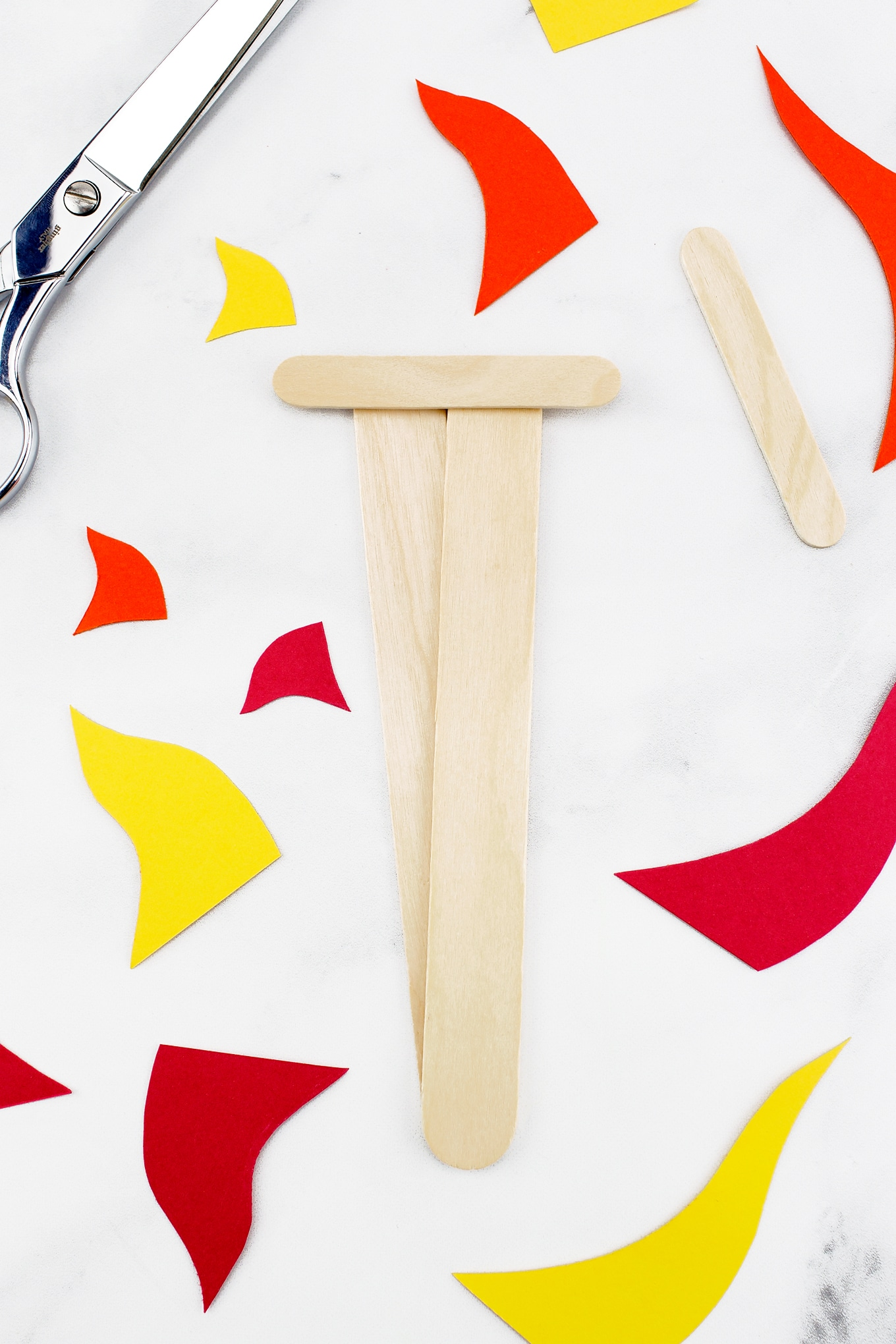 How to Make an Olympic Torch Craft