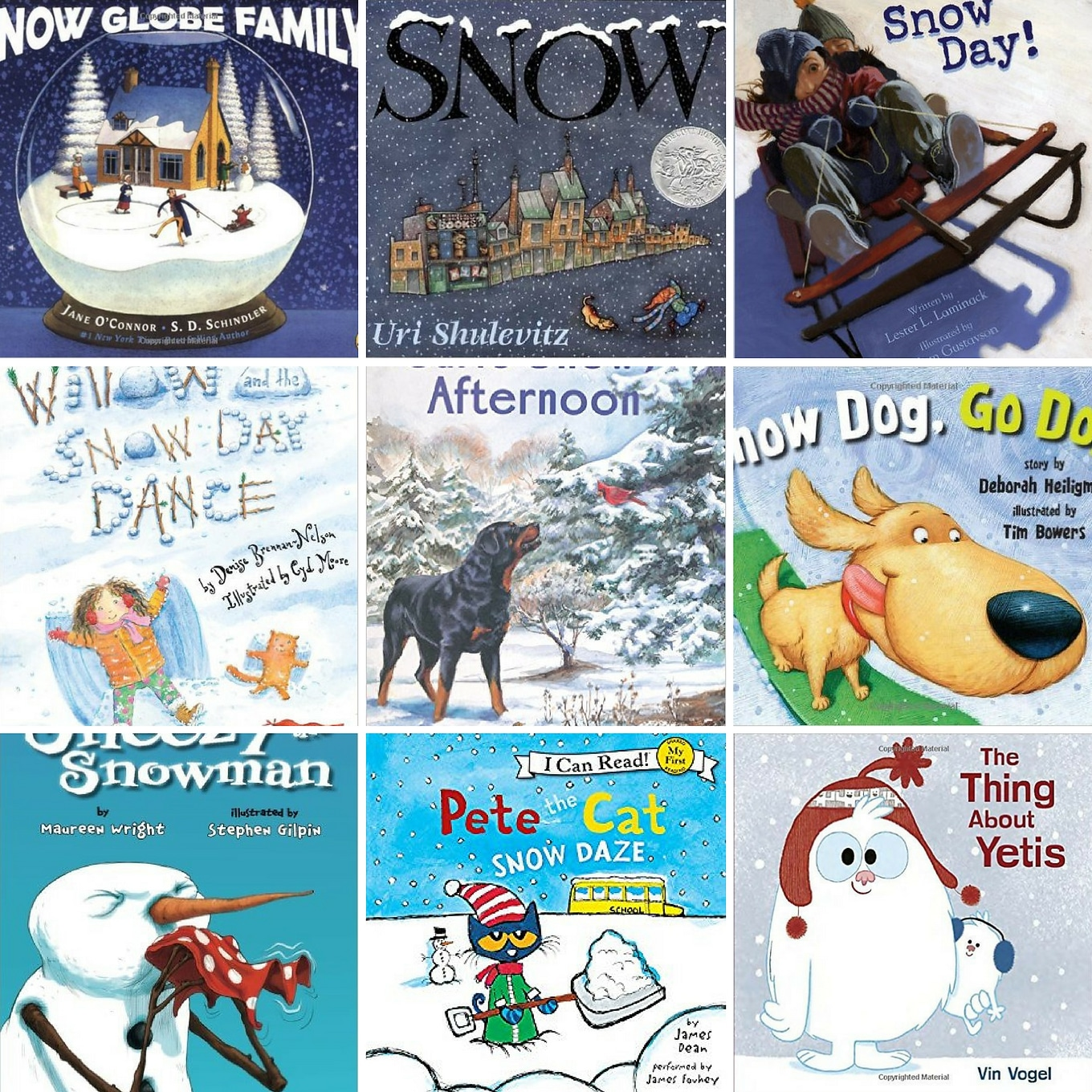 The Best Books About Snow for Kids