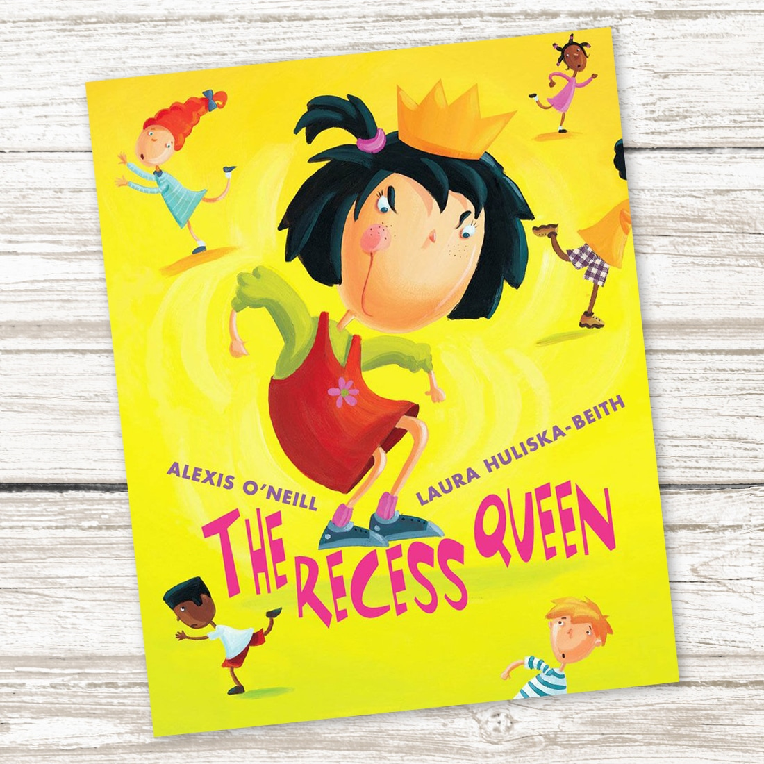The Recess Queen Book for Kids