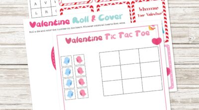 Free Printable Valentine Activity Pack