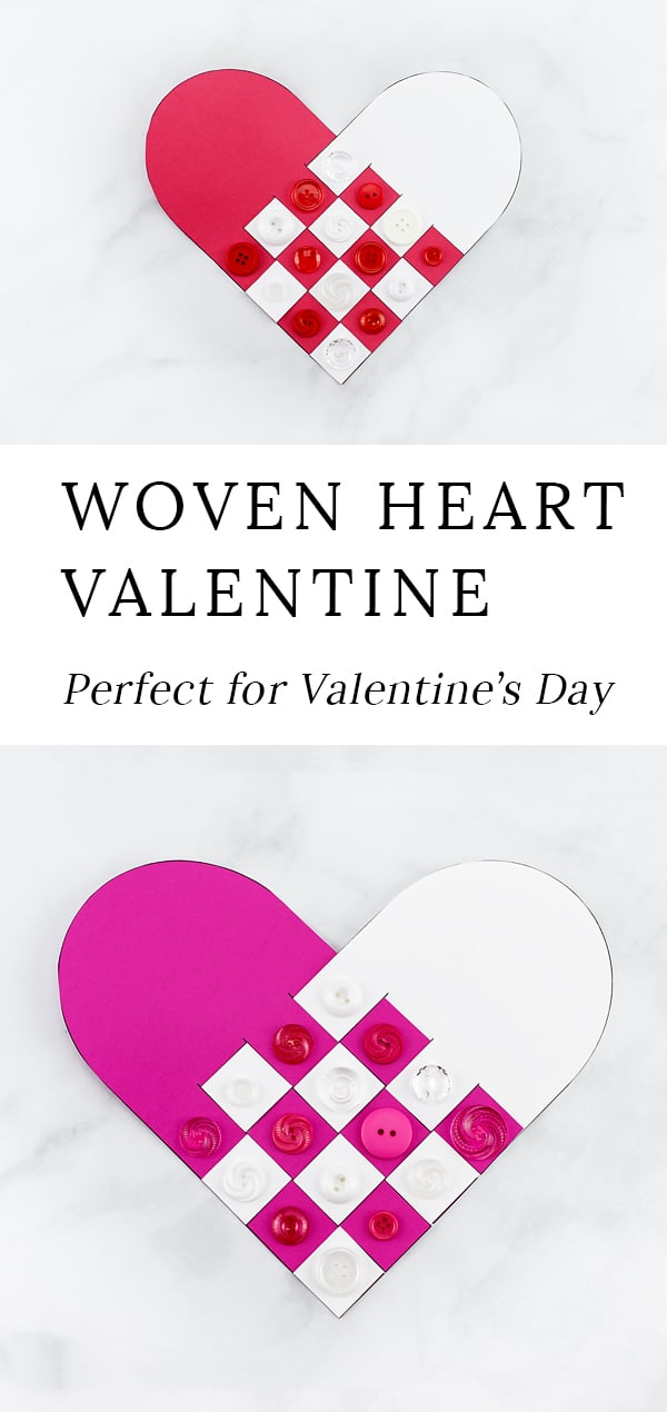 Reminiscent of Scandinavian Woven Hearts, this Woven Heart Craftis an easy and fun Valentine's Day craft for kids of all ages to make at school or home. #crafts #valentinesday via @firefliesandmudpies