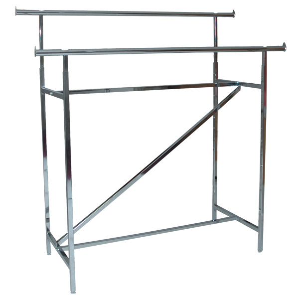 double bar clothing rack k 40 firefly solutions