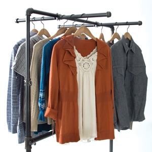selecting clothing racks for your