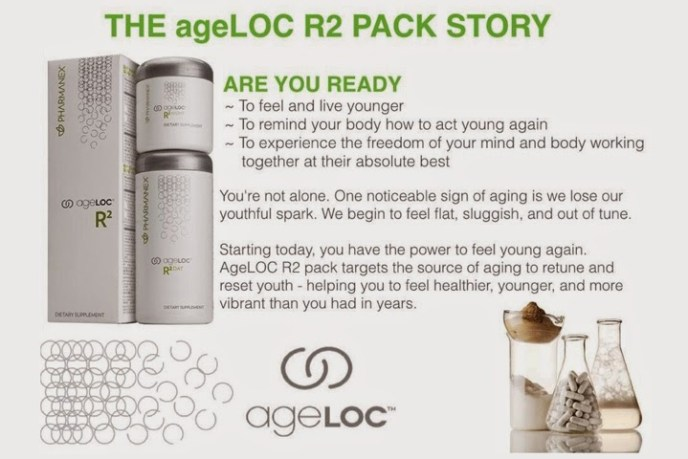 ageLOC R2 Pack Story