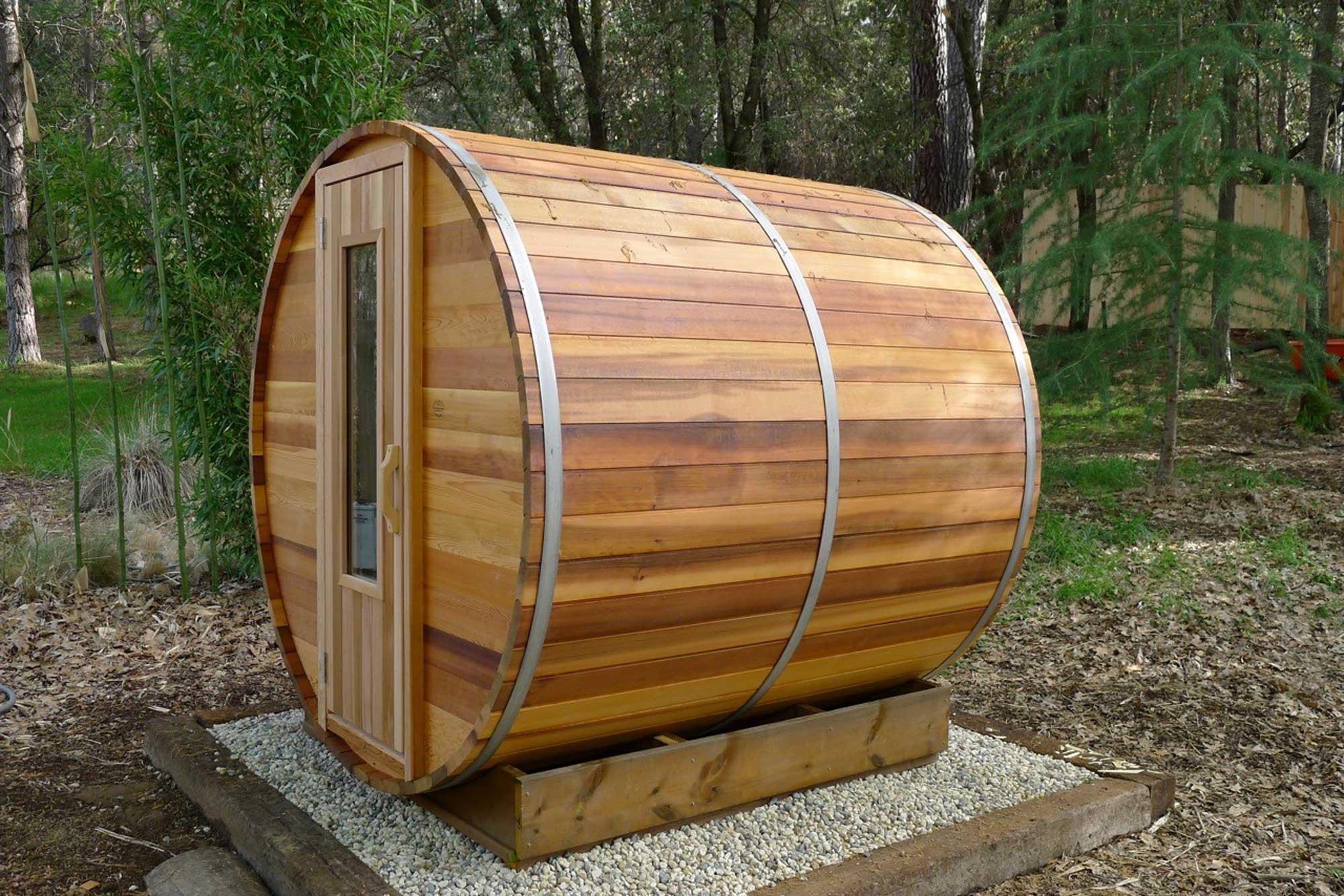 Northern Lights Cedar Wood Outdoor Sauna