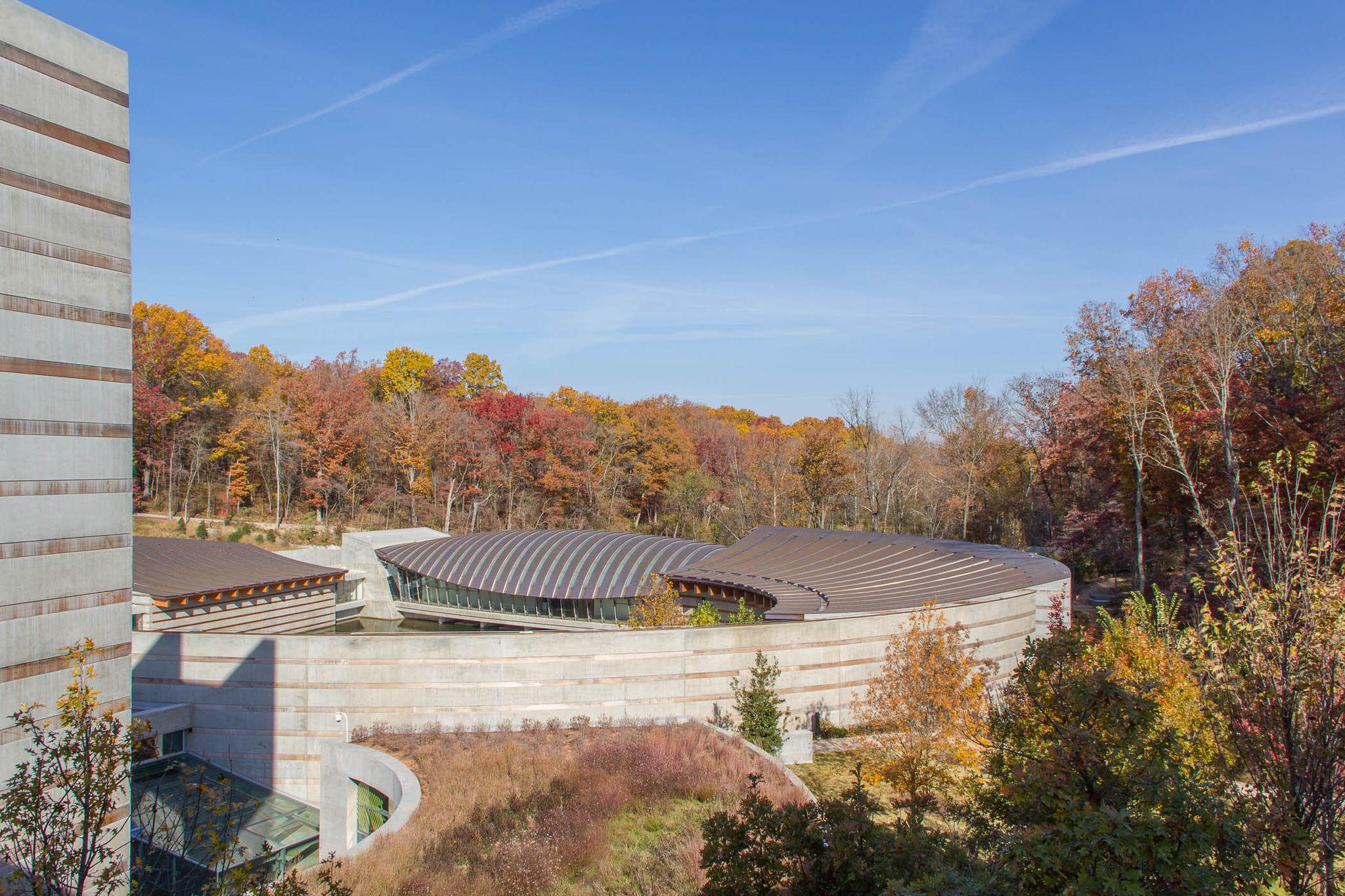 Crystal Bridges in Fall by Gordon