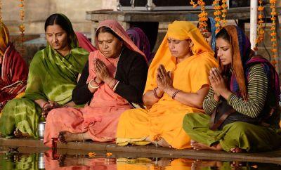 Kirtan Chanting Krishna Das