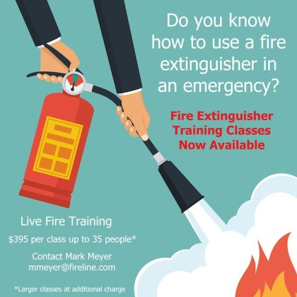 4 Essential Reasons Your Employees Need Fire Extinguisher Training