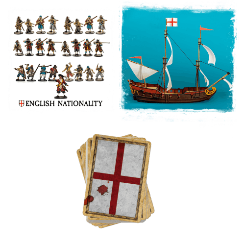 English nationality frigate bundle