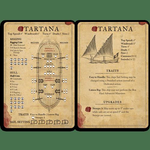 Tartana Ship Card