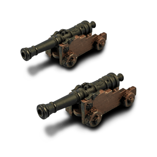 Two Heavy Cannons