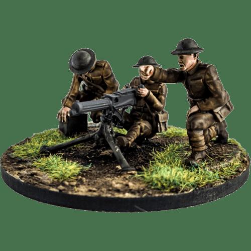 British Vickers MG Team
