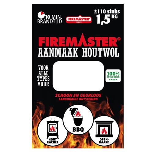 Aanmaak Houtwol Firemaster