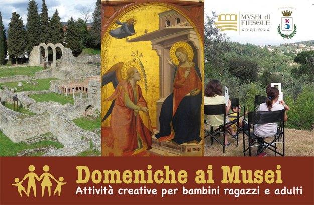 Domeniche ai Musei di Fiesole 2017